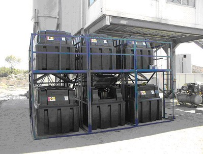 2500HB Storage Tanks for Quarry use