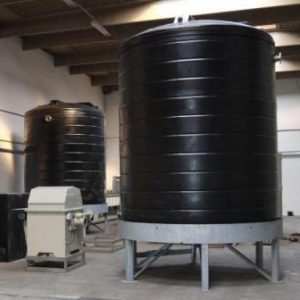Tanks with Dished Bases and Ladder Access