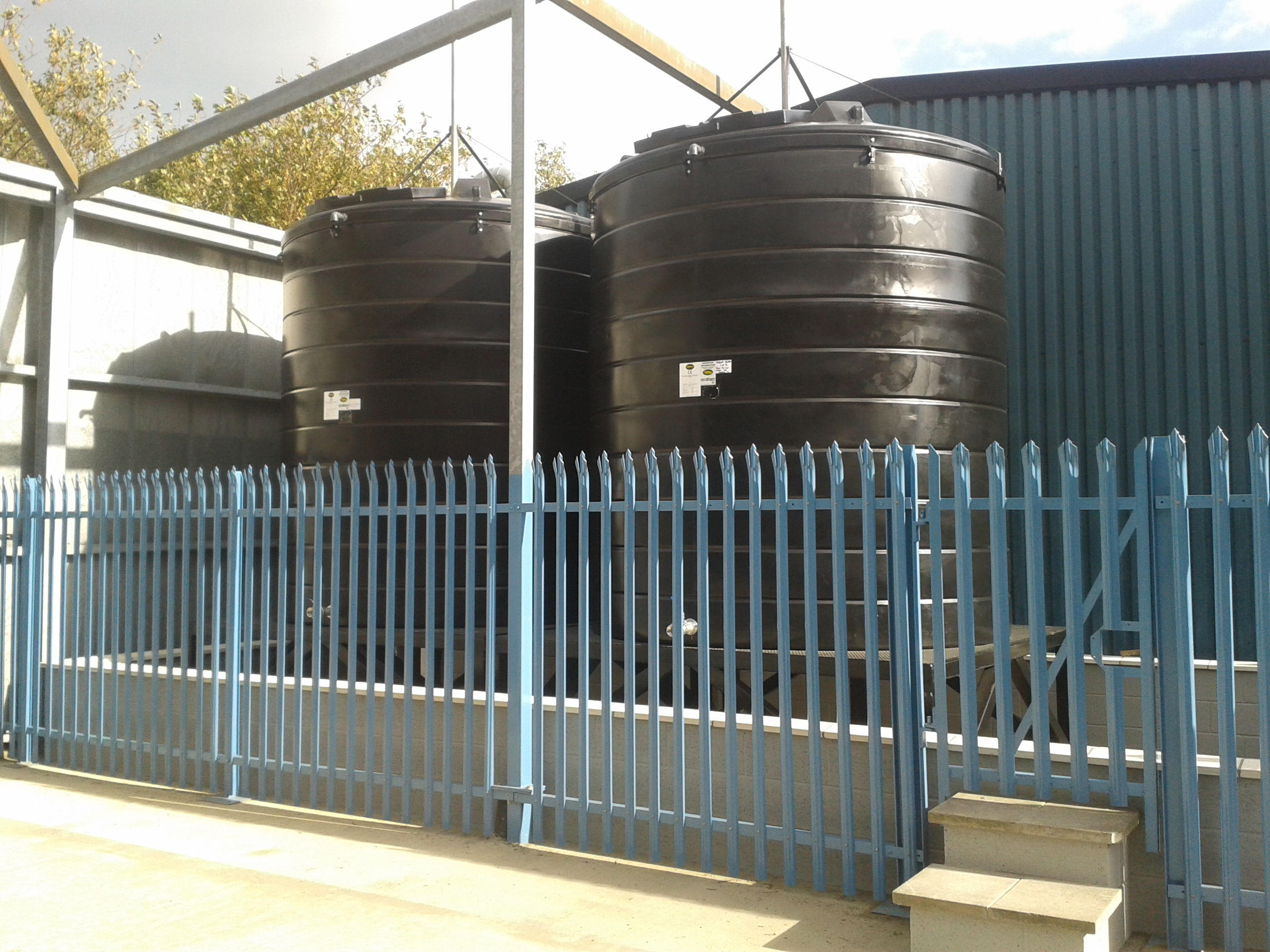 15000 litre Alcohol Chemical Storage Tanks