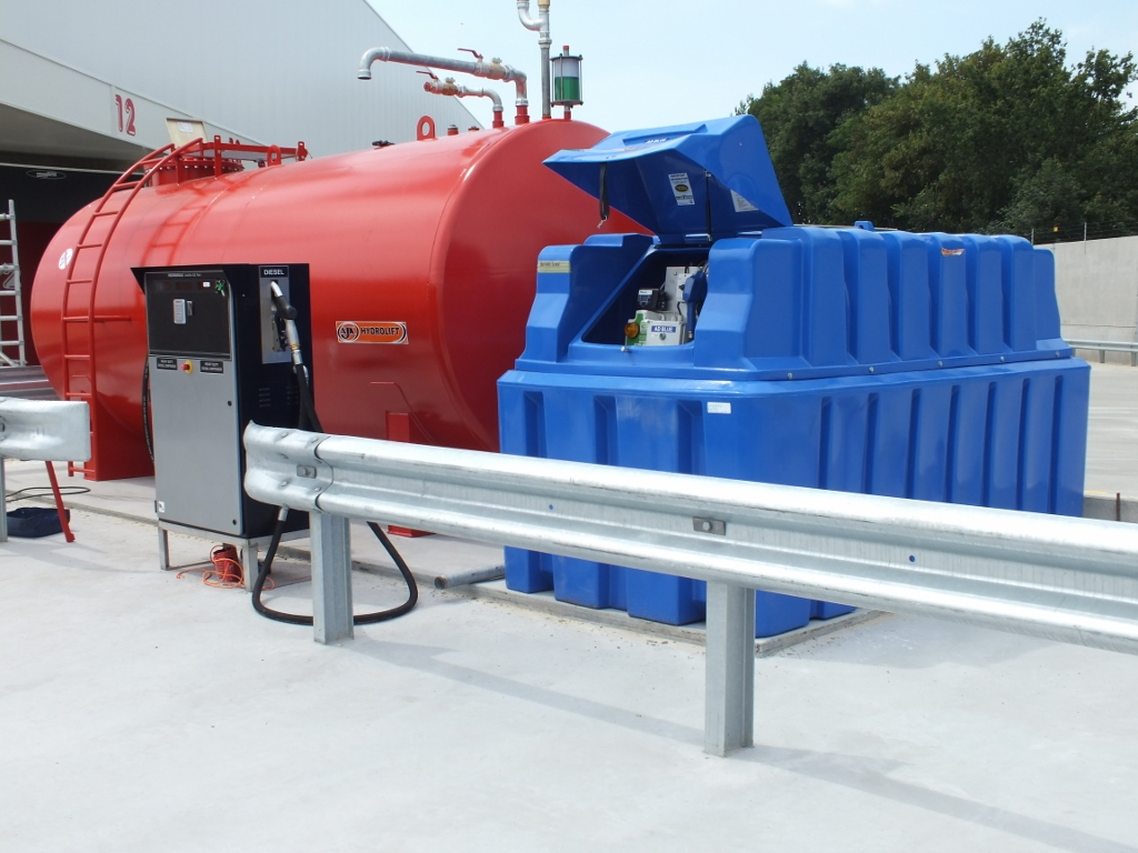 2500 AdBlue Tank Installation in the Netherlands