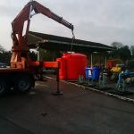 Bespoke Red Chemical Tanks