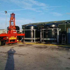 15000 litre deicer storage tanks