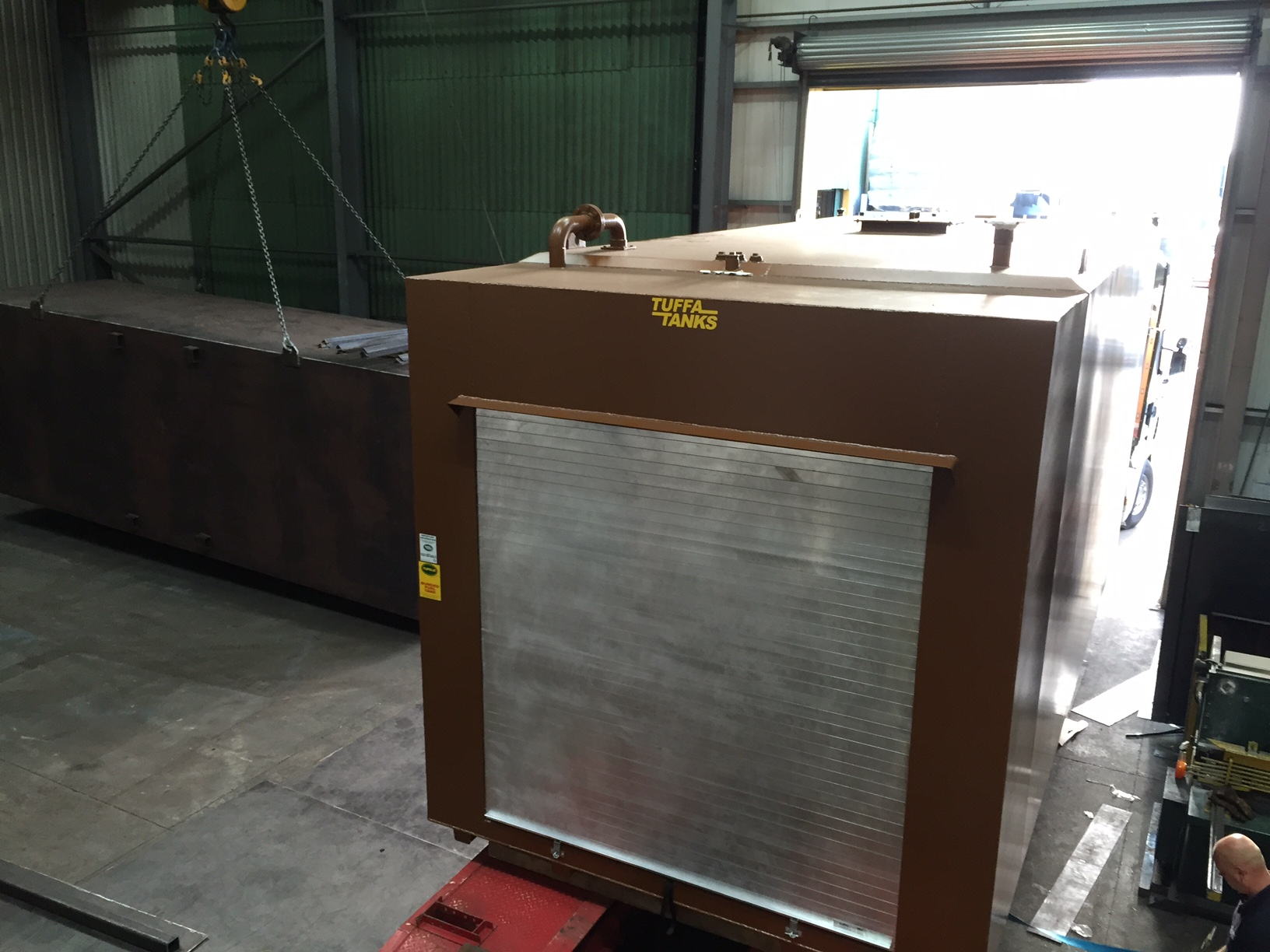Brown 45000SBFS Bunded Steel Tank