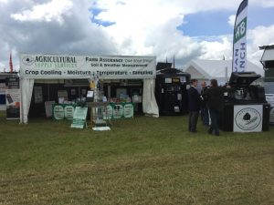Tuffa Tanks at the Cereals Agricultural Event 2016