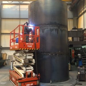 30000 litre Single Skin Steel Tank