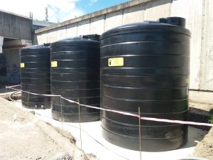 WATER STORAGE TANKS INSTALLATION IN SLOVAKIA