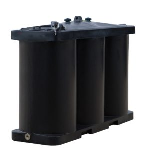 Tuffa 1350 litre horizontal single skin heating oil tank