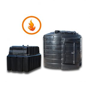 Fire Protected Oil Tanks