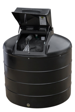 Tuffa 1400 litre fire protected oil tank