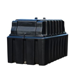 Tuffa 2500 litre fire protected oil tank