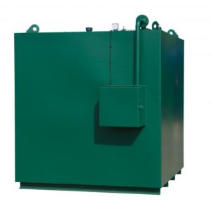 Tuffa Tanks - Large Steel Tank with small cabinet
