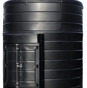 Tuffa dual compartment tank