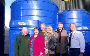 Two generations of the Shenton family celebrated 25 years of Tuffa UK in Uttoxeter.
