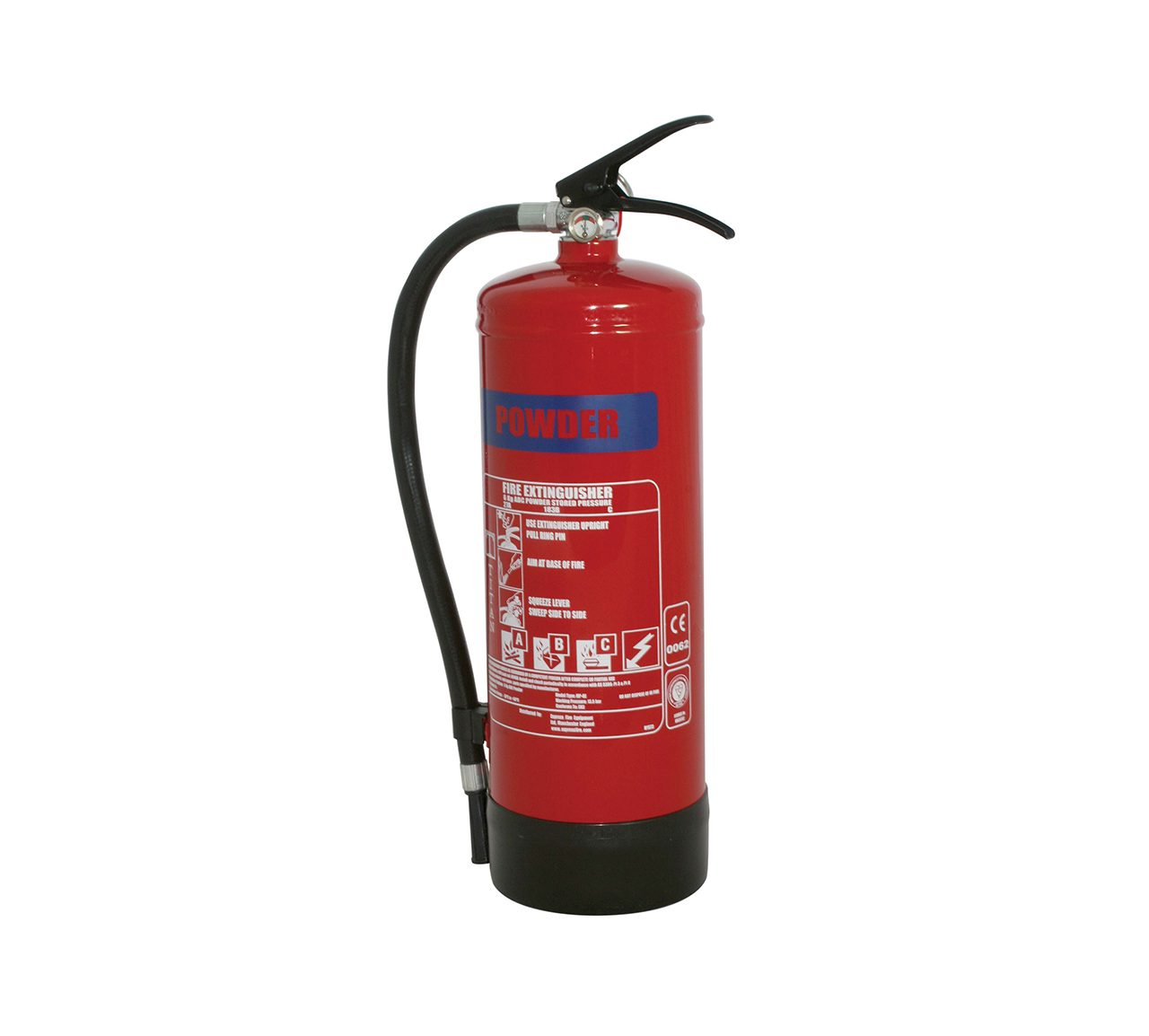 FIRE EXTINGUISHER 6KG POWDER