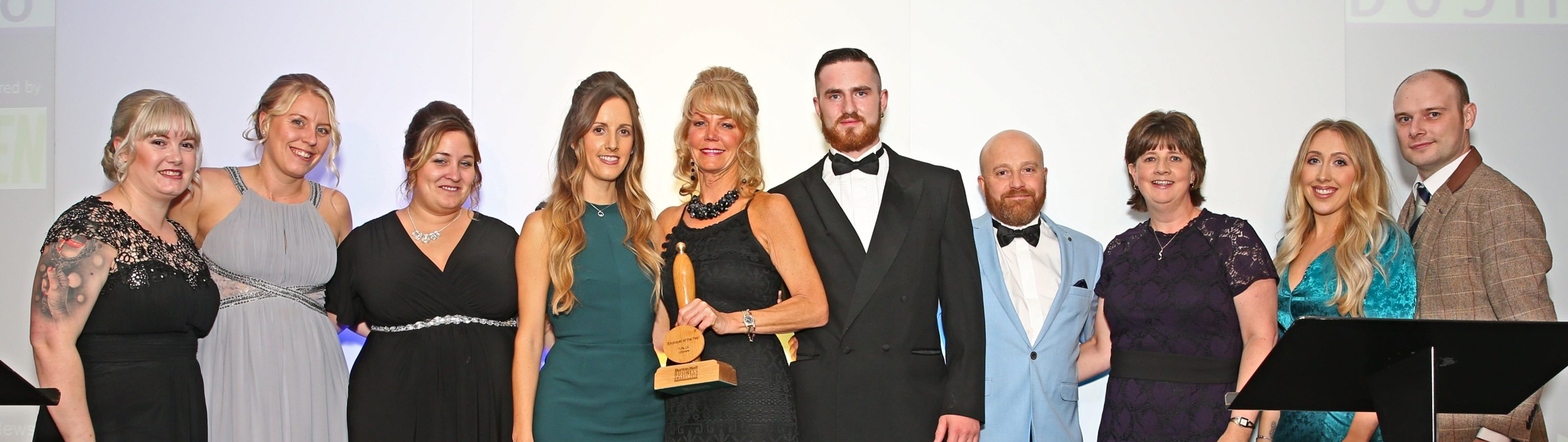 The Tuffa Team receiving the award