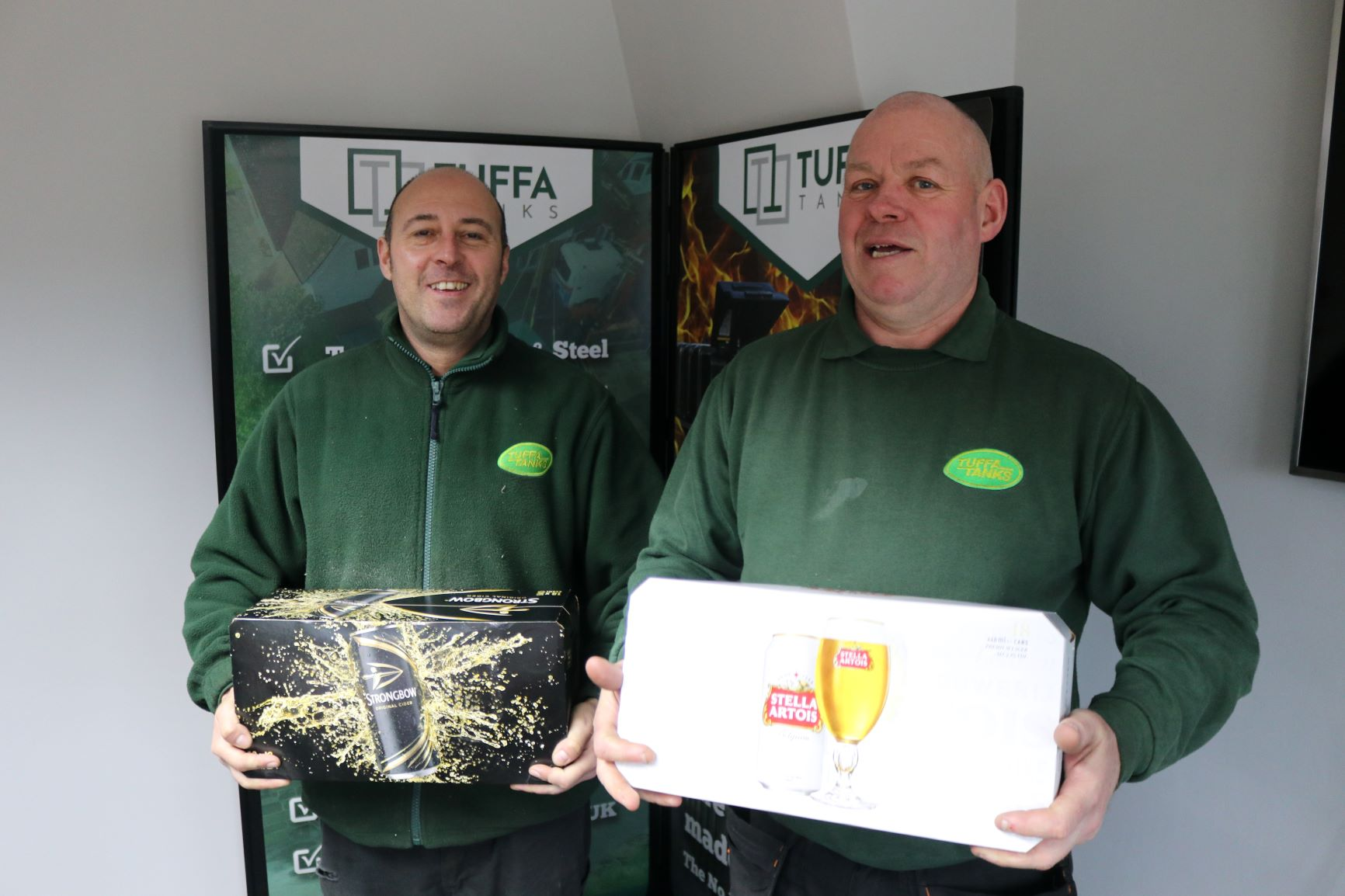 Tuffa Employees of the Month Jan