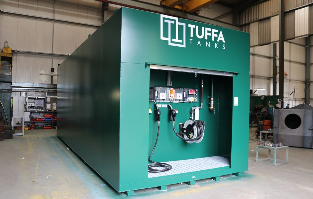 Tuffa dual compartment diesel tank
